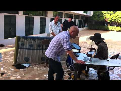 Africa Express in Bamako - Pauli the PSM - Brian Eno recording