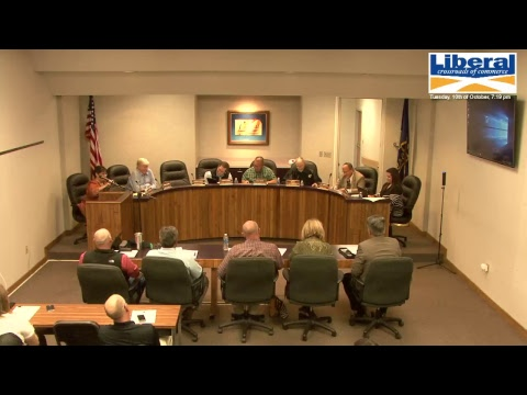 City of Liberal - Regular Commission Meeting 10/10/2017