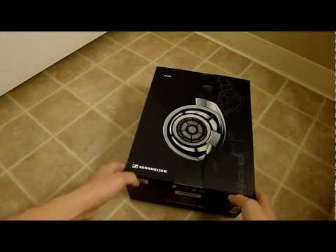 Man vs.Packing, Sennheiser HD800 headphones unboxing