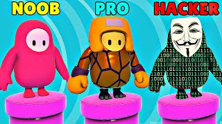 NOOB vs PRO vs HACKER - Fall Guys: Ultimate Knockout
