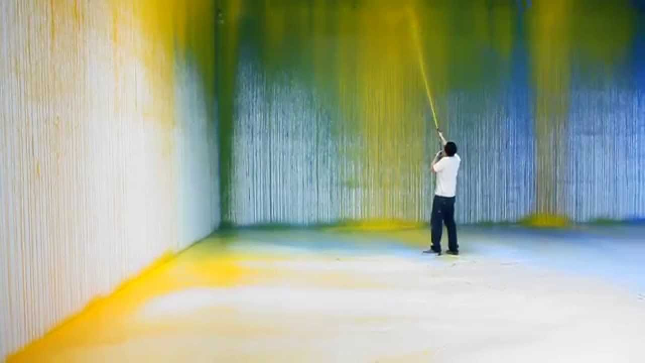 Spray Paint The Walls Youtube