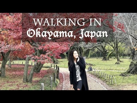 Walking in Okayama, Japan