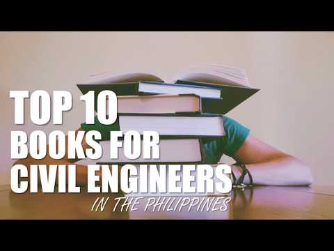 Top 10 Books For Civil Engineers | Philippines