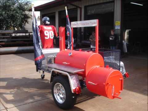 Houston Texans Tailgating By Gator Pit Youtube