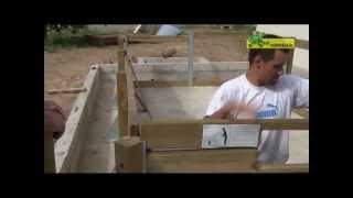 Ubbink houten zwembad Linéa 350 x 650, rechthoekig model