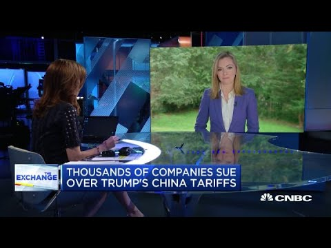 Thousands of companies challenge Donald Trump administration on China tariffs