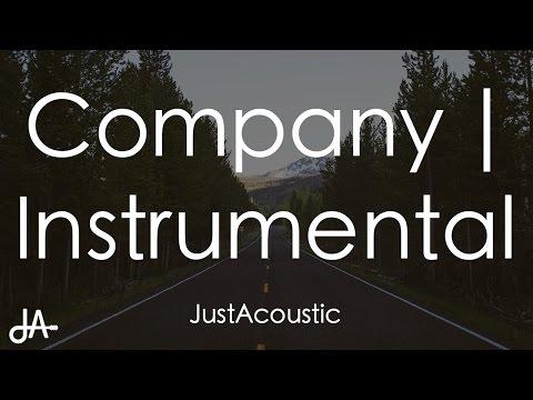 Company - Justin Bieber (Acoustic Instrumental)