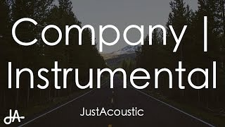 Company - Justin Bieber (Acoustic Instrumental)