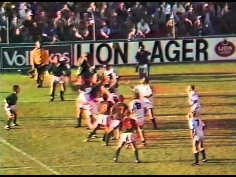 1984 South Africa Springboks vs England (1st Test) (Highlights)