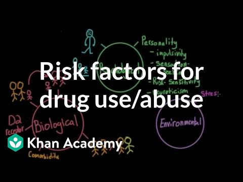 Risk factors for drug use and drug abuse