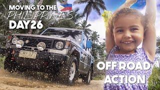 Off Roading SIARGAO PHILIPPINES Rainy Season 4x4 ADVENTURE