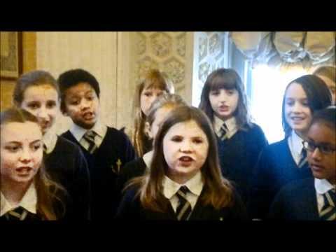 The Batt School Choir.....Mary Had A Baby