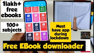 Free ebook reader application in android phone