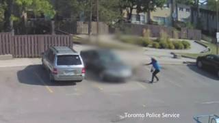 @TorontoPolice 23 Division Shooting | Two Suspects Captured on CCTV Video