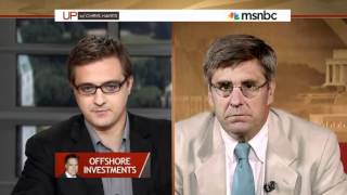 Stephen Moore nukes MSNBC Chris Hayes on rich liberals wanting to pay higher taxes (7/8/12)