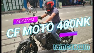 CF Moto 400NK - Motostrada Philippines : Free Delivery, First and Second day riding the bike!