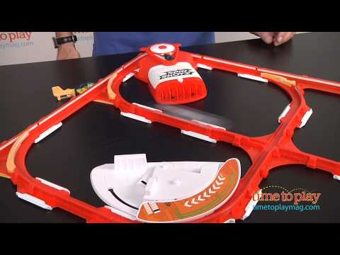 hot wheels spinshotz super boost spinway from mattel youtube. Black Bedroom Furniture Sets. Home Design Ideas