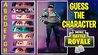 Guess The Character In Fortnite Battle Royale! Fortnite Quiz/Challenge