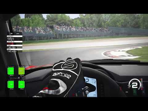 Assetto Corsa Ultimate Edition imola follow on low 1 46s to low 1.45s and my best time 1.45.4 |