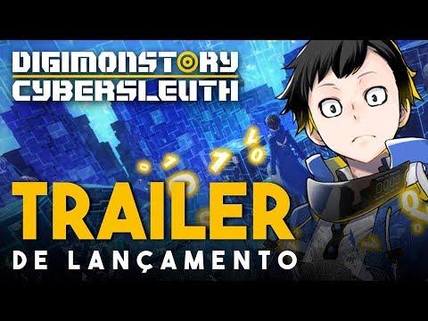 Digimon Story CyberSleuth: Hacker's Memory - Trailer de Lançamento