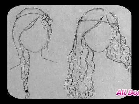 ♡How To Draw cute hairstyles for beginners! (Part TWO)♡