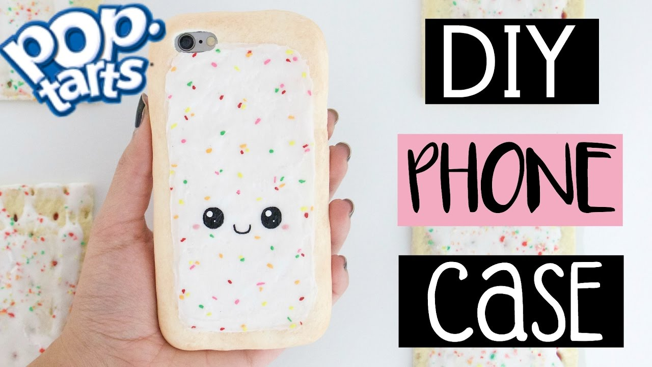 Diy Pop Tart Phone Case From Scratch