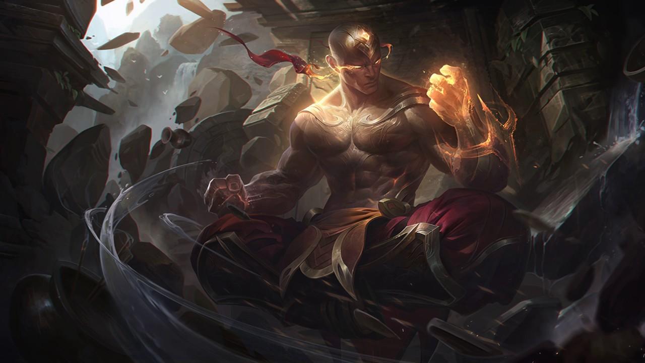 Voice - God Fist Lee Sin, Legendary Skin - English - YouTube