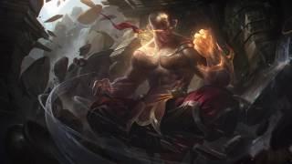 Voice - God Fist Lee Sin, Legendary Skin - English