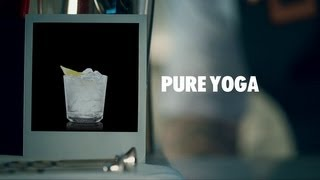 PURE YOGA DRINK RECIPE - HOW TO MIX