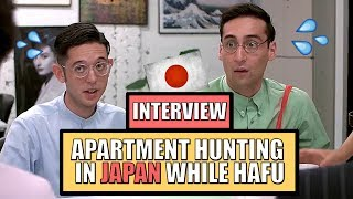RENTING Apartments in JAPAN looking like a FOREIGNER | Interview with Bilingual JAPANESE Actors