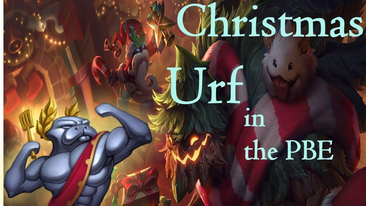 Urf 2020 Christmas LOL PBE   Christmas URF(ARURF) #2   WARWICK GAMEPLAY   YouTube