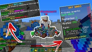 FIZ 292 KILLS NO SKYWARS SOLO DO SKYMINIGAMES! (MAIOR BUG DO SERVIDOR DO LUGIN!)