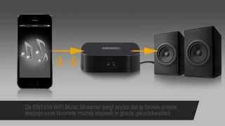 EM7410 WiFi Music Streamer: upgrade je geluidsinstallatie met WiFi
