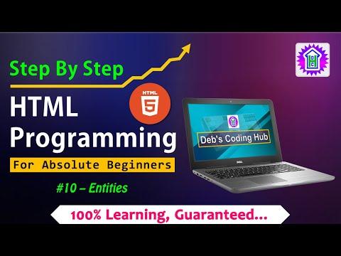 HTML5 Programming #10