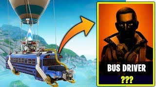 the BUS DRIVER skin in Fortnite....