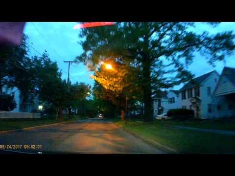 """5/24/2017 """"TOLEDO NEWS VAN illegal U-TURN on Eleanor Ave"""