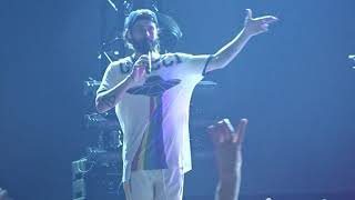 30 Seconds To Mars WALK ON WATER At Sick Arena Freiburg Germany 27 August 2018
