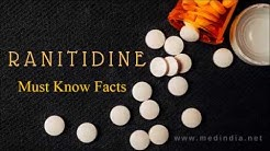 Ranitidine: Drug to Treat Gastroesophageal Reflux, Intestinal, and Stomach Ulcers