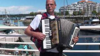 An accordion started to play / by buskerjames