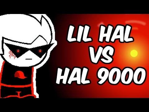 Lil Hal vs. Hal 9000 (Homestuck/2001: A Space Odyssey)