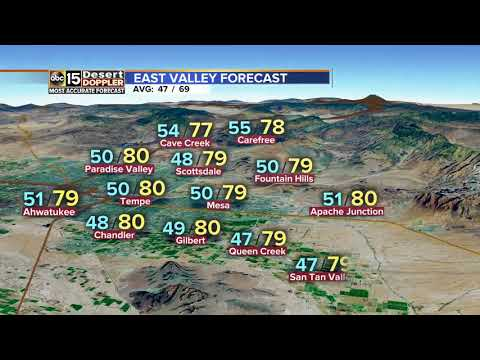 Warm Valley weather continues into the weekend