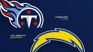 PREGAME: TENNESSEE TITANS VS LOS ANGELES CHARGERS  #CHARGERS #TITANS GAME 7