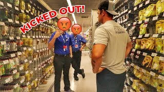 KICKED OUT of Academy Shopping for Fishing Lures!