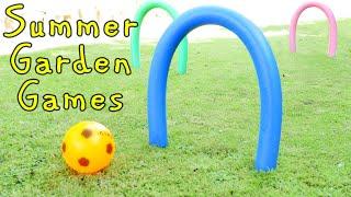 Outside Garden Games for the Family!