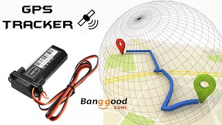 Cheapest GPS Tracking Device For Motorcycle | Total Installation Guide | Specification | Banggood