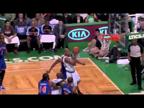 NBA Playoffs 2011: Knicks Vs Celtics Game 1 Highlights Ray Allen Game Winner