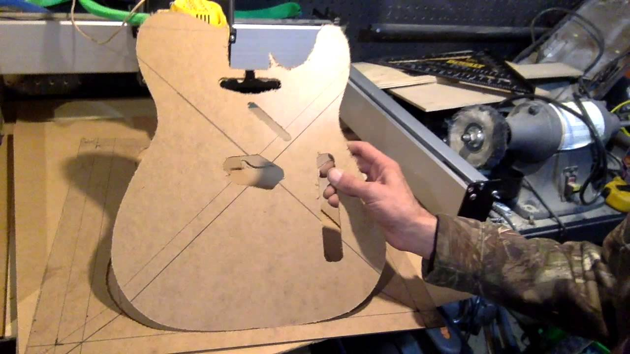 Telecaster Template Youtube