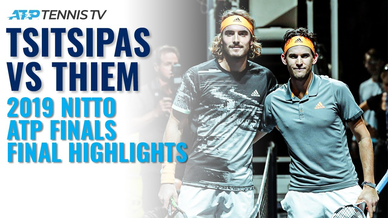 Stefanos Tsitsipas vs Dominic Thiem  | 2019 ATP Finals Final Extended Highlights