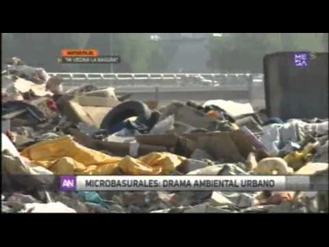 Reportajes Mi vecina, la basura Canal 9 Mega Ahora Noticias Edición Central 03062015