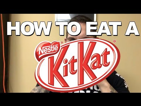 How To Eat a KitKat